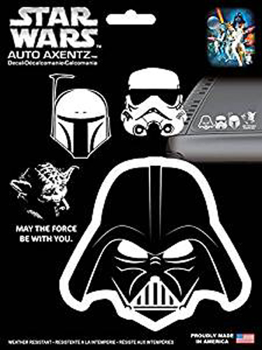 Star Wars Heads Family Decal Kit (4 Pc)